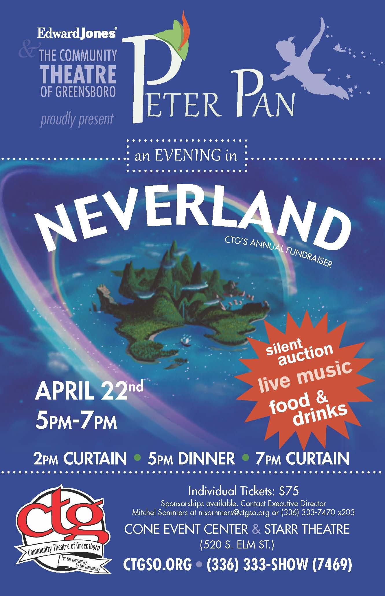 Peter Pan Annual Fundraiser