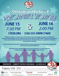 Tickets & Season Memberships – Community Theatre of Greensboro